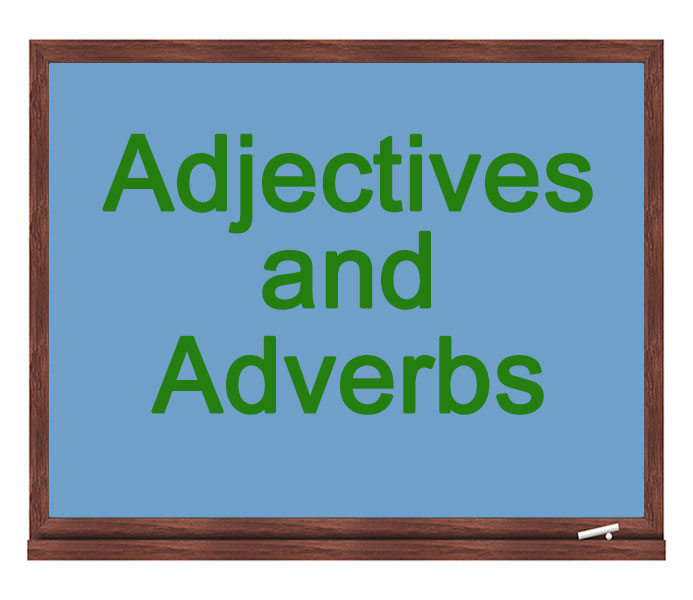 adjectives and adverbs icon