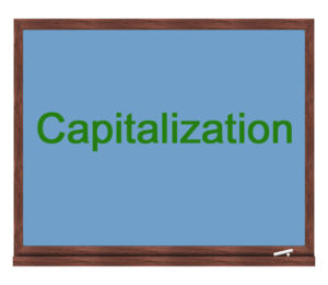 capitalization icon