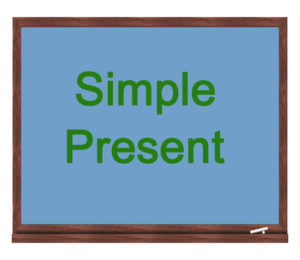 simple present icon