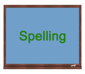 spelling icon