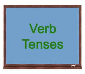 verb tenses icon