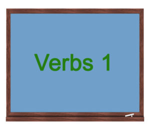 verbs 1 icon