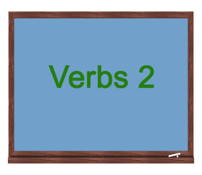 verbs 2 icon