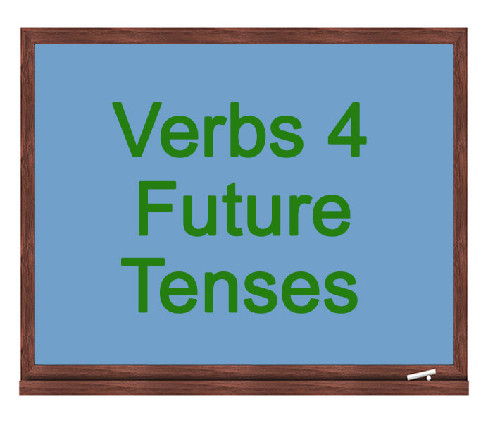verbs 4 future tenses icon