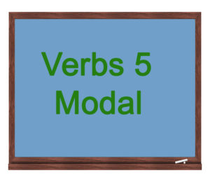 verbs 5 modal icon