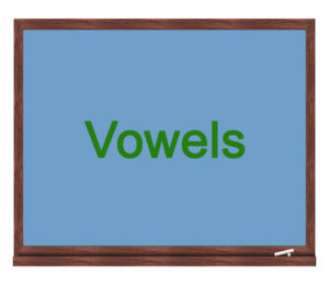 vowels icon
