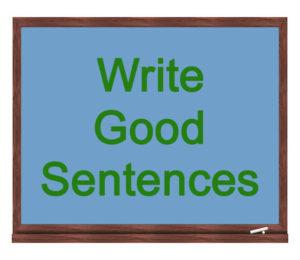 write good sentences icon