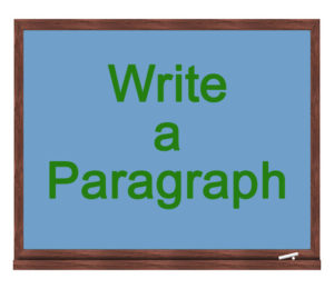 write a paragraph icon