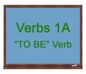 Verbs-1a-To-Be-Verb